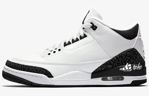Air Jordan 3 SP White Black 2021 Release Date
