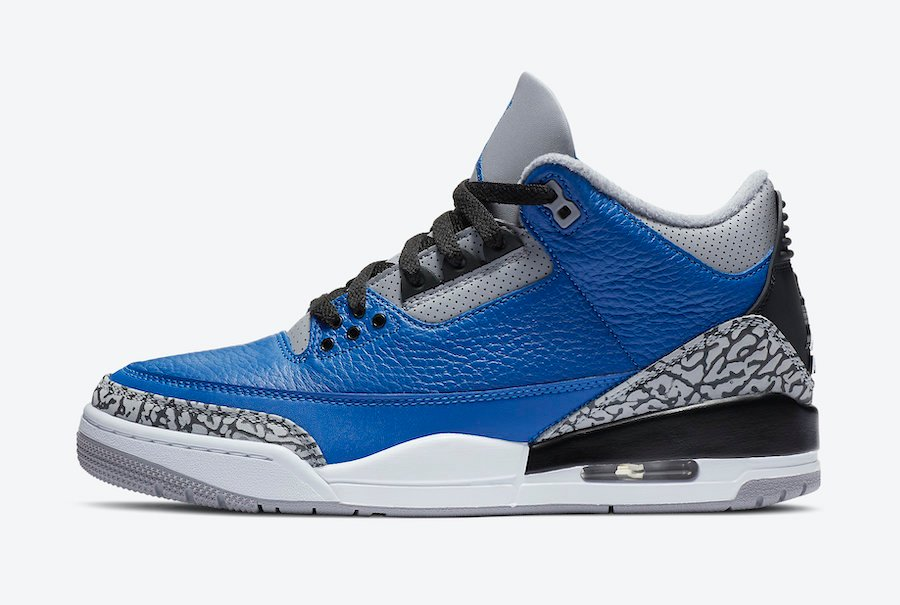 Air Jordan 3 Varsity Royal CT8532-400 Release Date