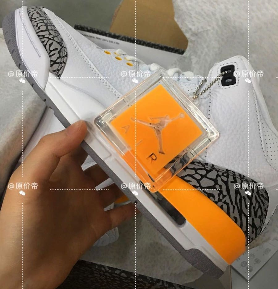 Air Jordan 3 Womens Laser Orange CK9246-108 Release Info