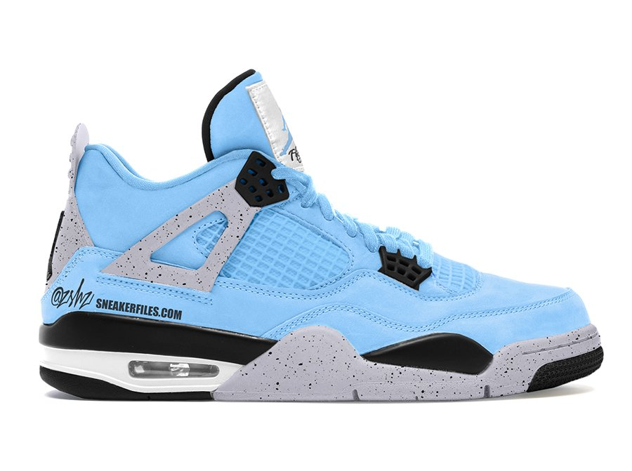 Air Jordan 4 University Blue CT8527-400 2021 Release Date
