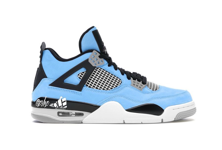 Air Jordan 4 University Blue CT8527-400 Release Date Info
