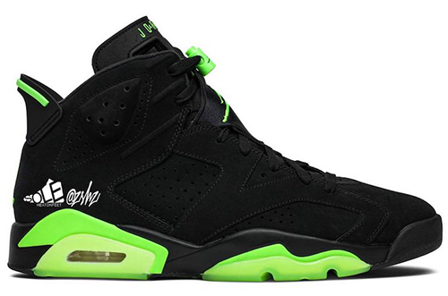 Air Jordan 6 Electric Green 2021 Release Date