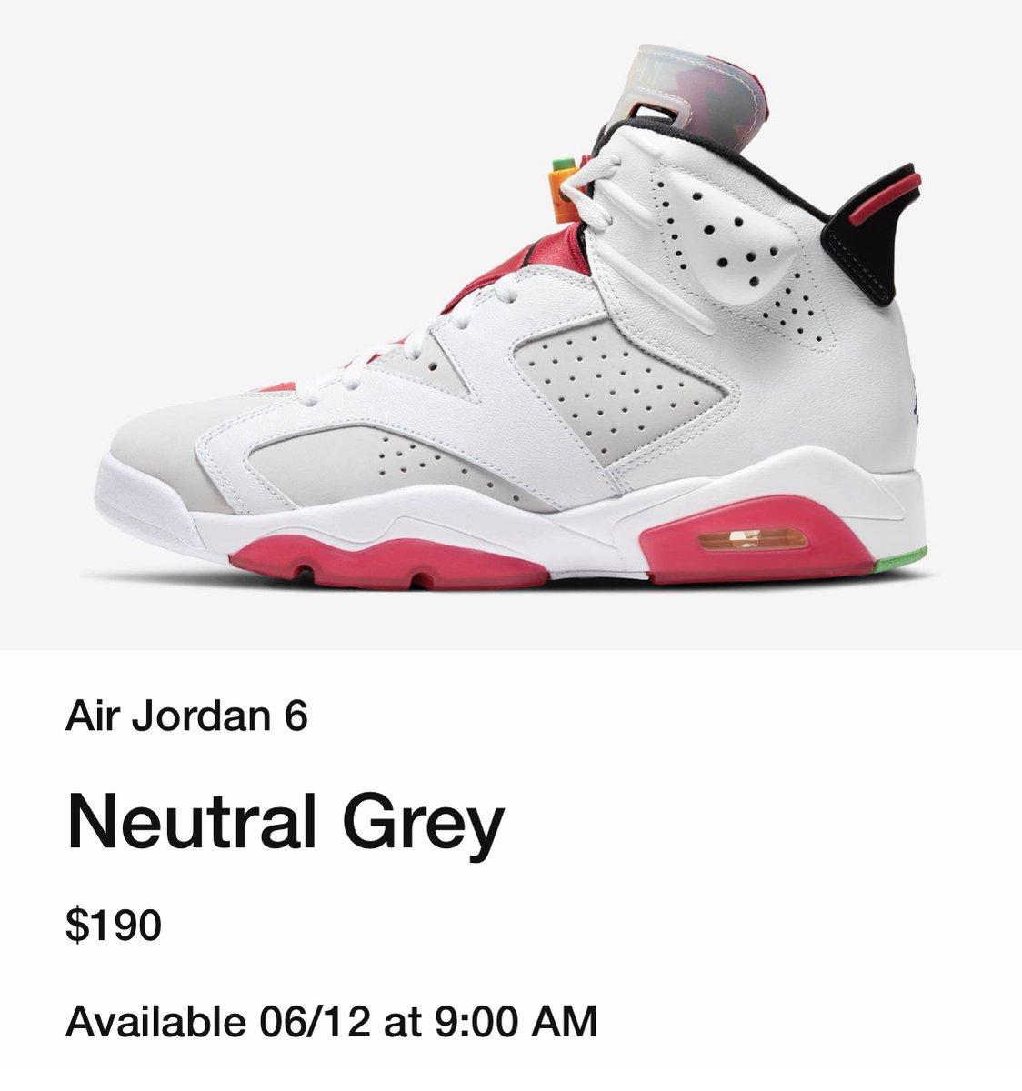 Air Jordan 6 Hare New Release Date
