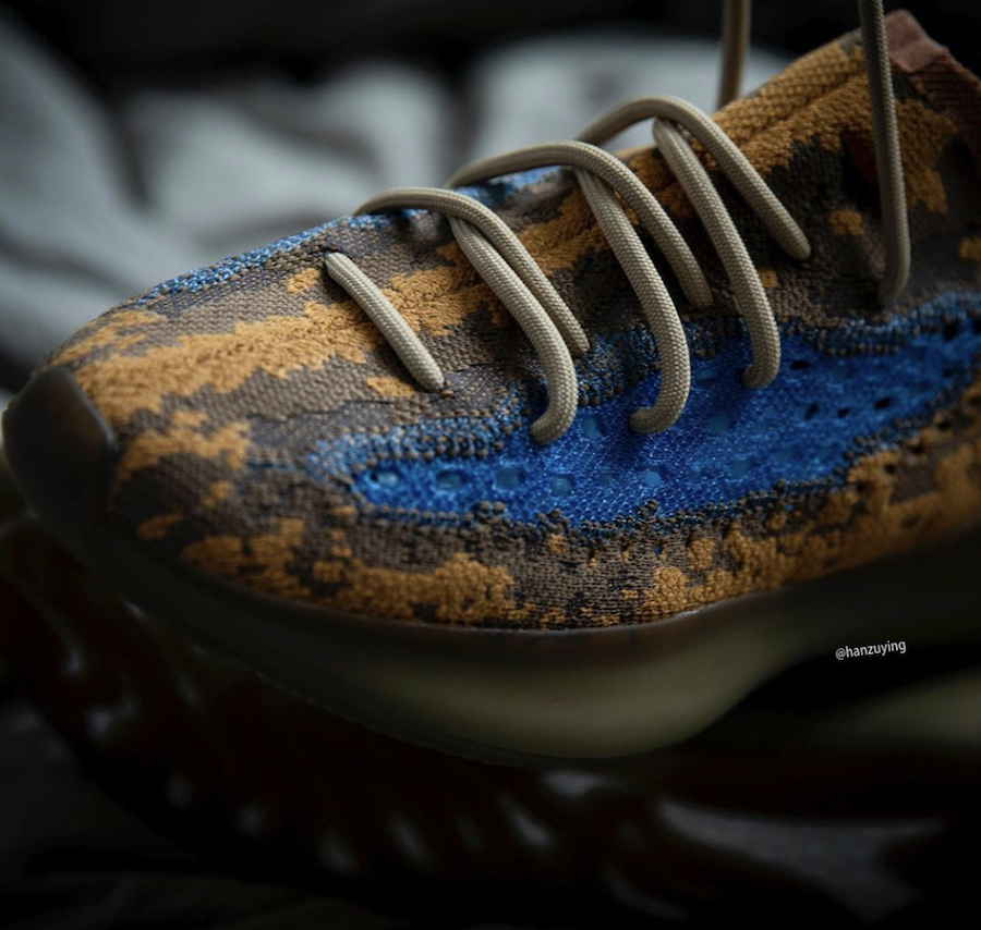 Blue Oat adidas Yeezy Boost 380