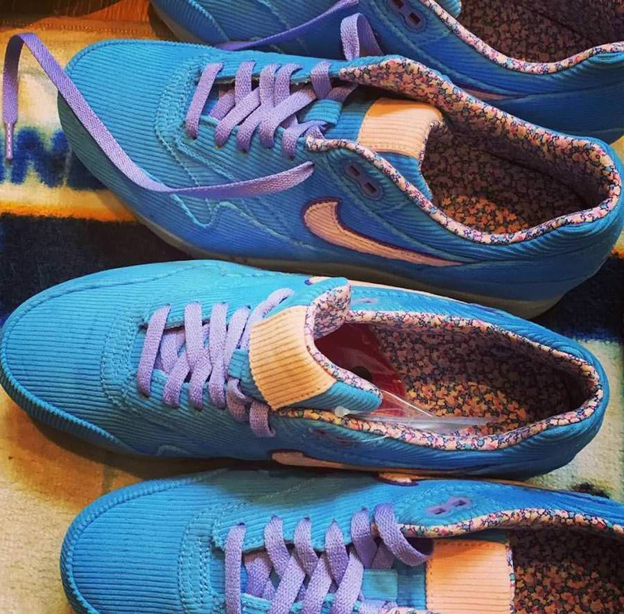 Edison Chen Showcases Nike Air Max 1 with Corduroy | Getswooshed