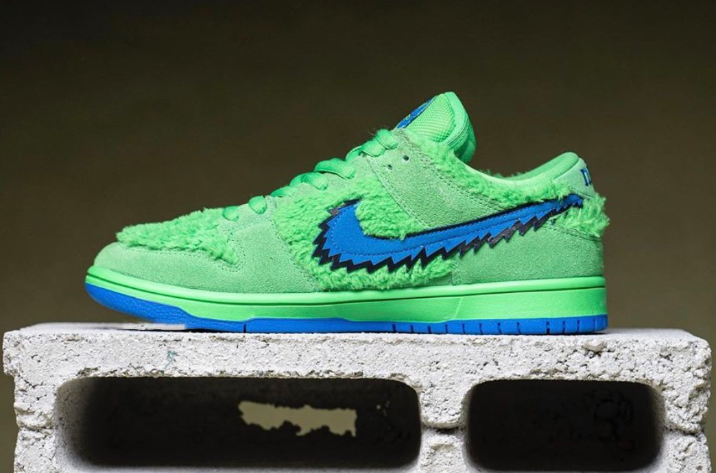 Grateful Dead Bears Nike SB Dunk Low Release Date