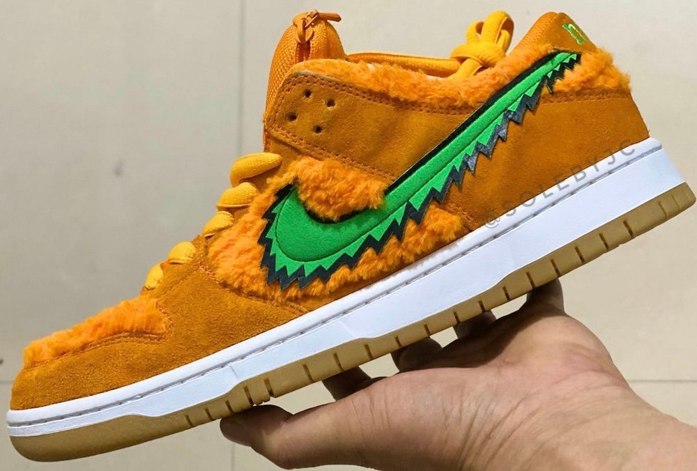Grateful Dead Nike SB Dunk Low Orange Release Date Info