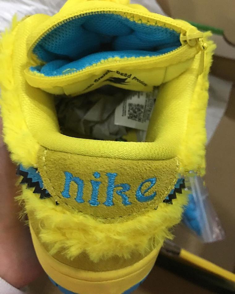 Grateful Dead Nike SB Dunk Low Yellow Bear CJ5378-700 Release Date Info