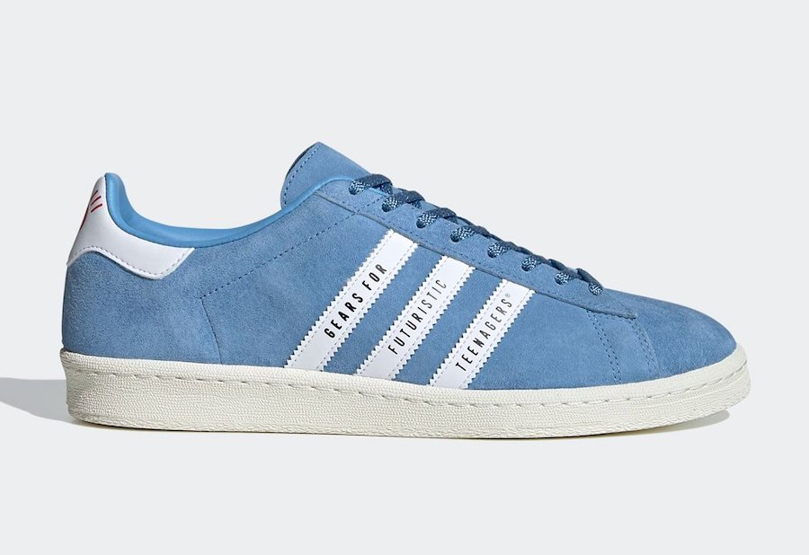 Human Made adidas Campus Blue FY0731 Release Date Info