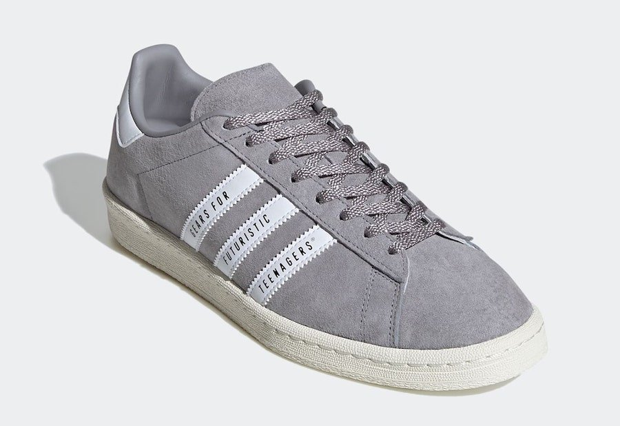Human Made adidas Campus Grey FY0733 Release Date Info