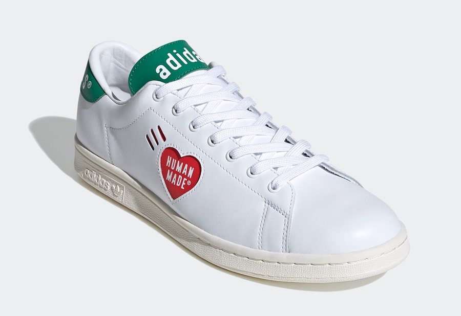 Human Made adidas Stan Smith White Green FY0734 Release Date Info