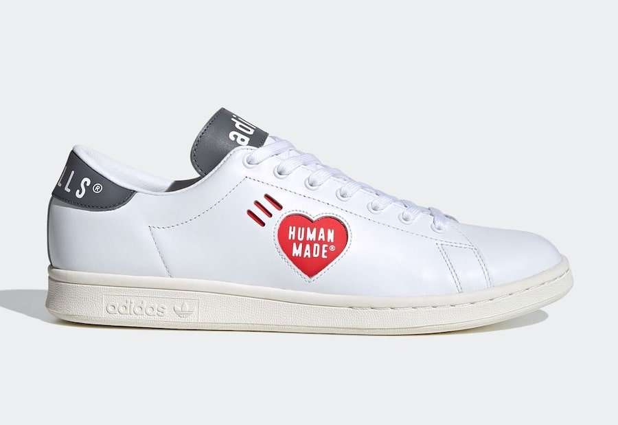 Human Made Stan Smith White Grey FY0736 Release Date Info