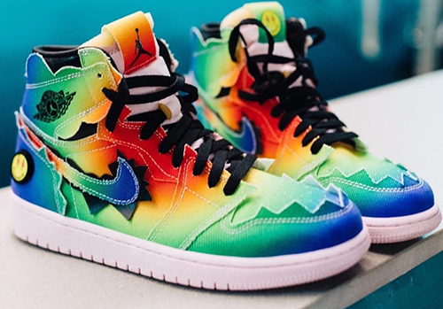 J Balvin Air Jordan 1 High OG Release Date