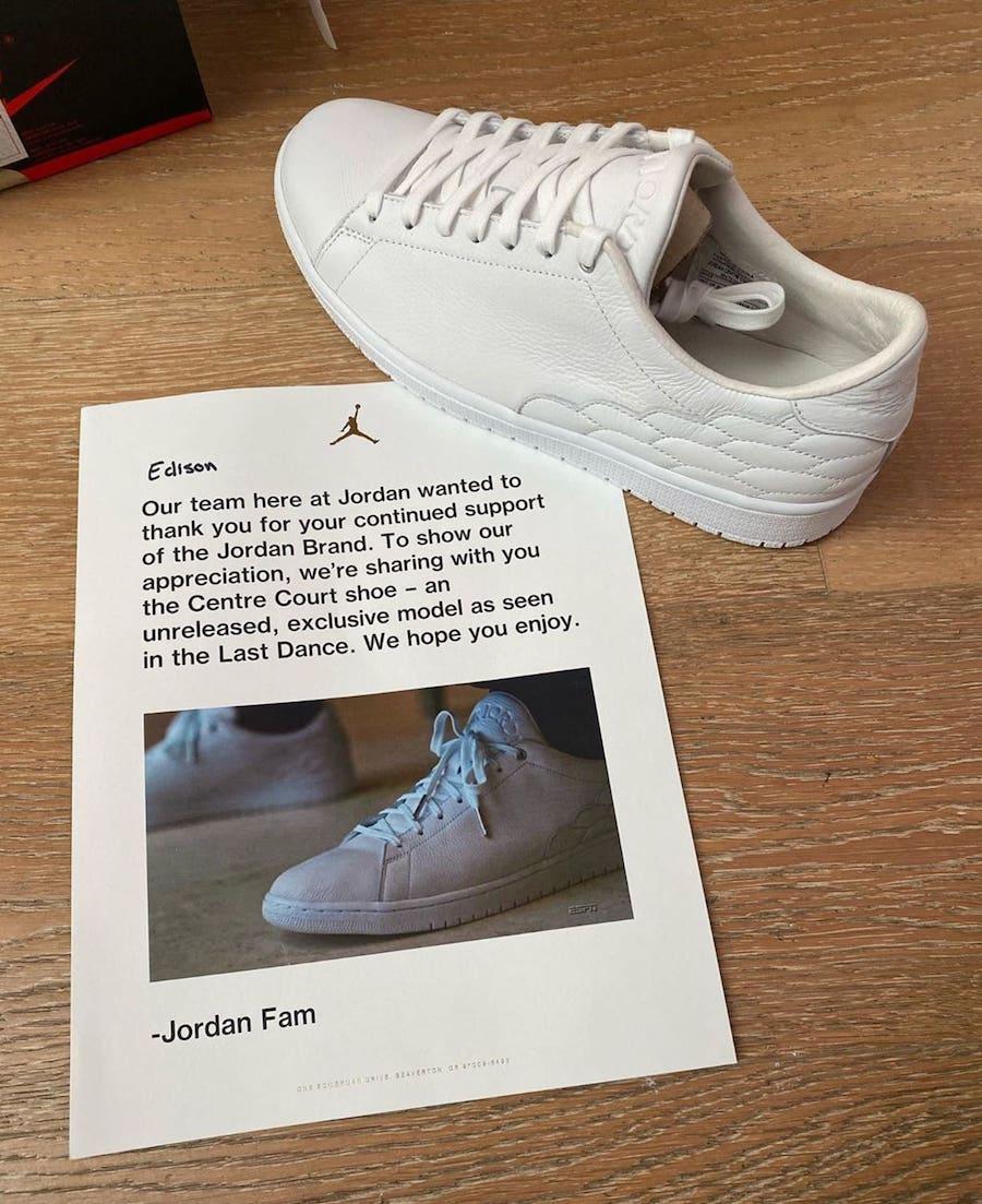 Jordan Centre Court The Last Dance 2020 Release Date Info