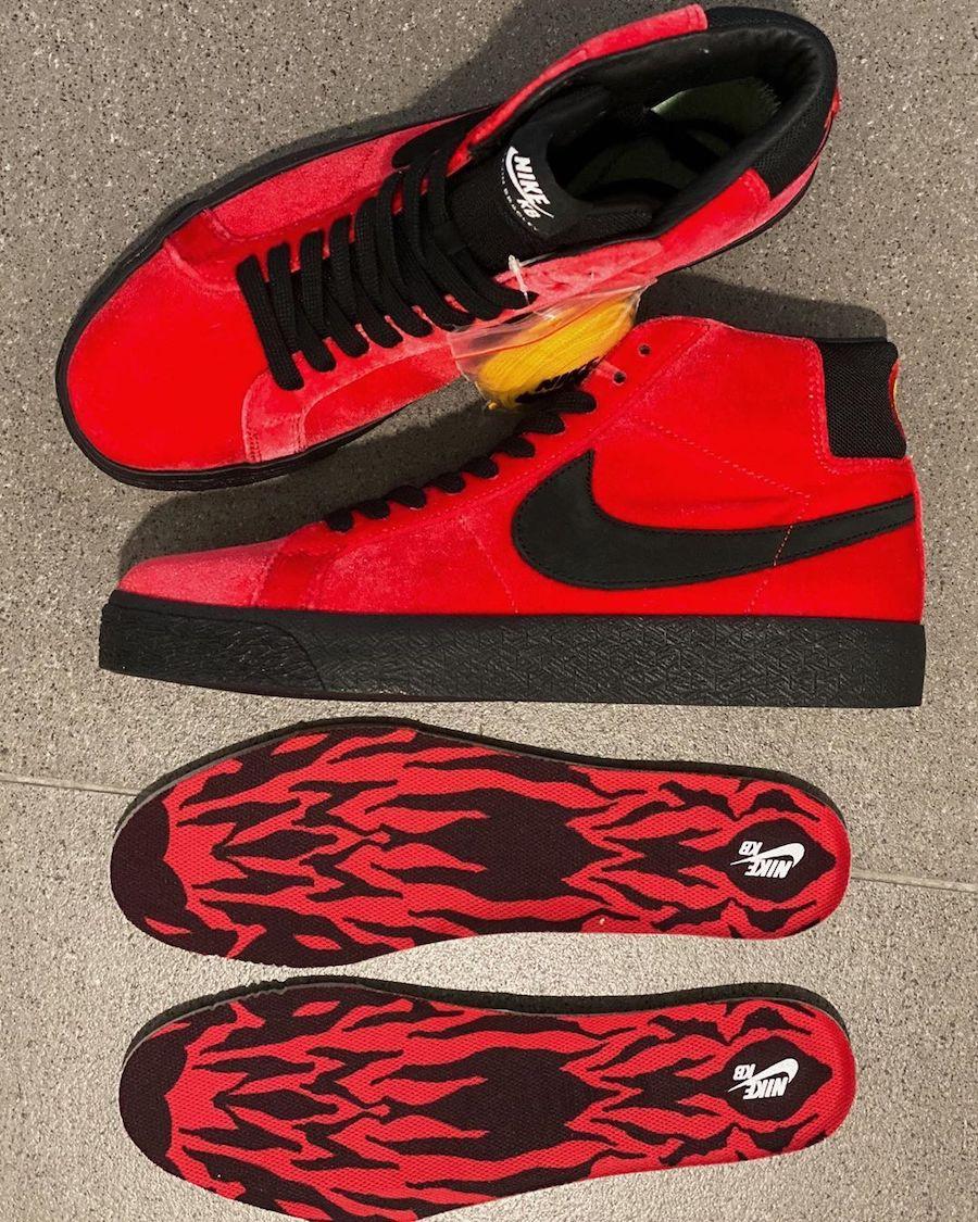 Kevin Bradley Nike SB Blazer Mid Hell Release Date Info