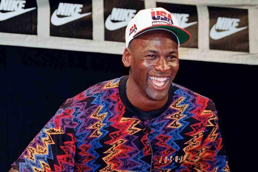 Michael Jordan Sweater 1992 Barcelona Olympics