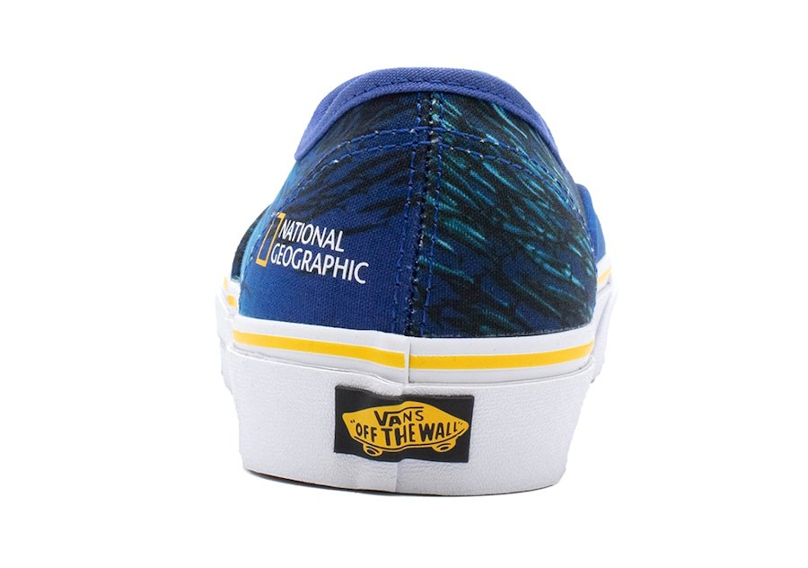 National Geographic Vans Authentic Release Date Info