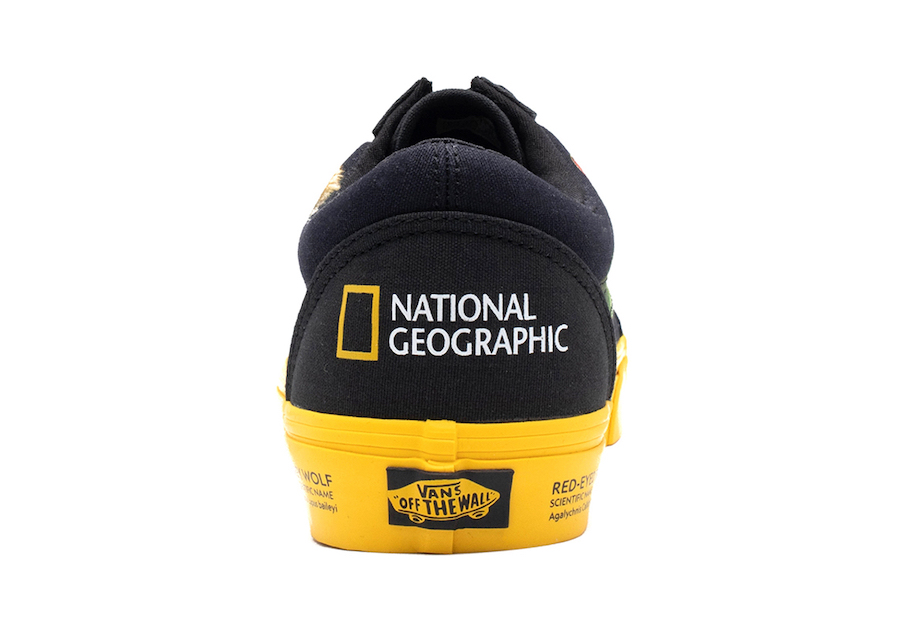 National Geographic Vans Old Skool Release Date Info