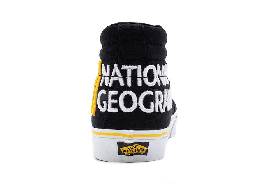 National Geographic Vans SK8-Hi Release Date Info