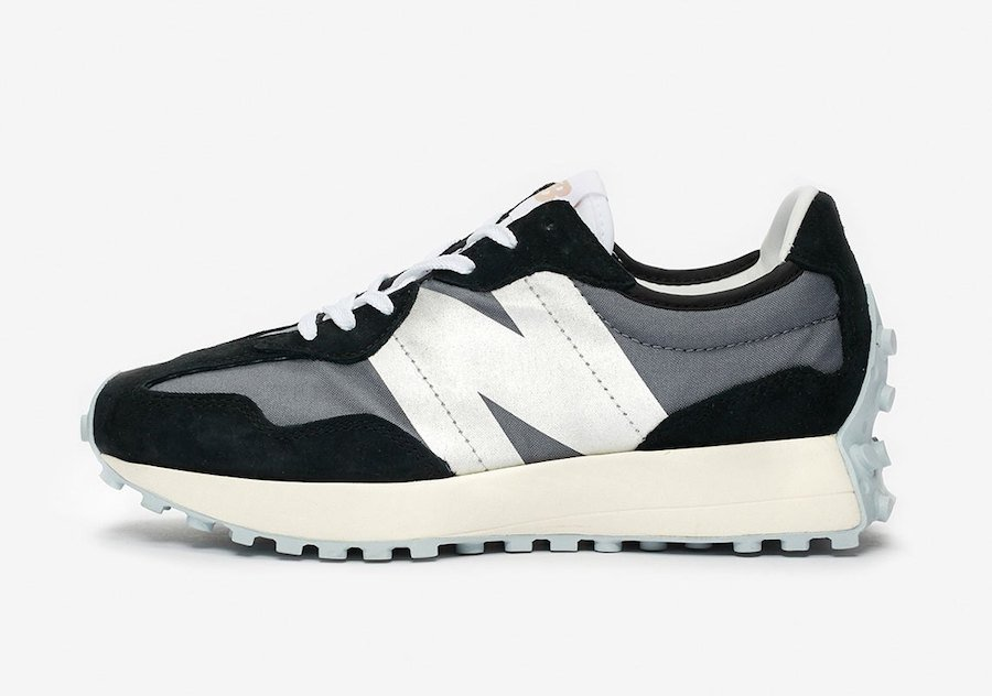 New Balance 327 Black Grey White Release Date Info