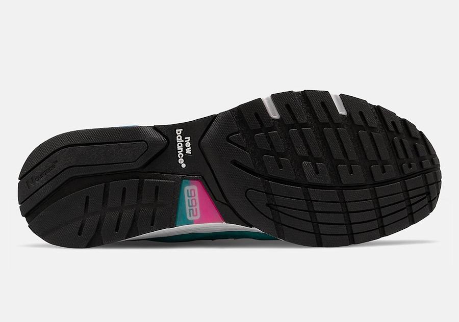 New Balance 992 Black Multi-Color Release Date Info