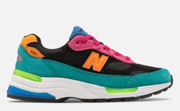 New Balance 992 Black Multi-Color Release Date Info