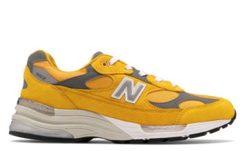 New Balance 992 Yellow Gold Cream Release Date Info