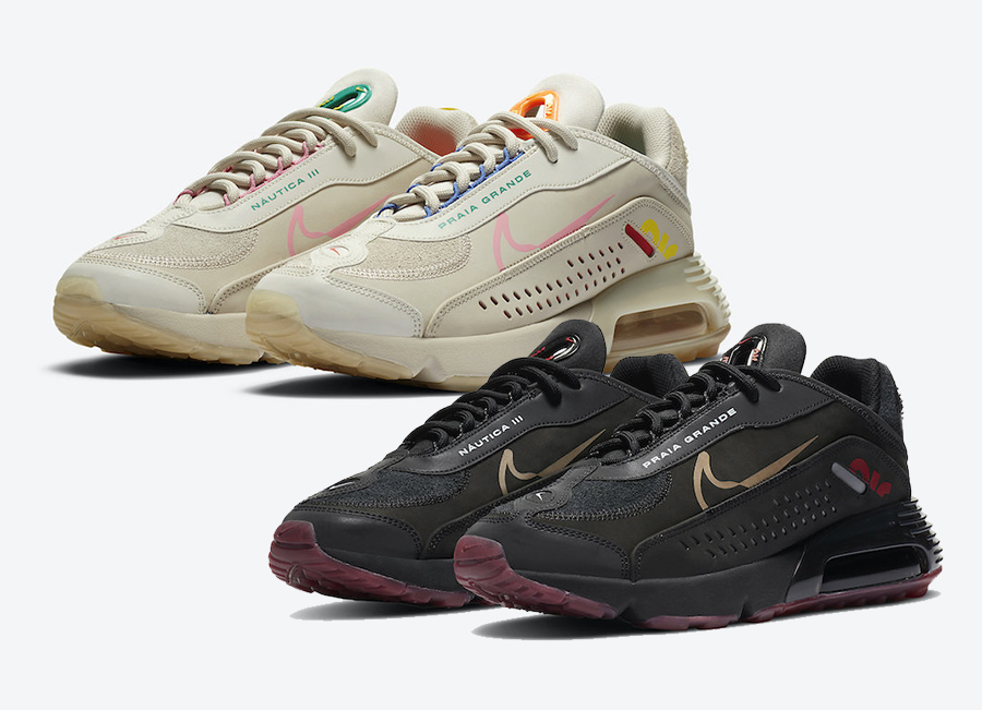 Neymar Nike Air Max 2090 Light Orewood Brown CU9371-100 Black CU9371-001 Release Date Info