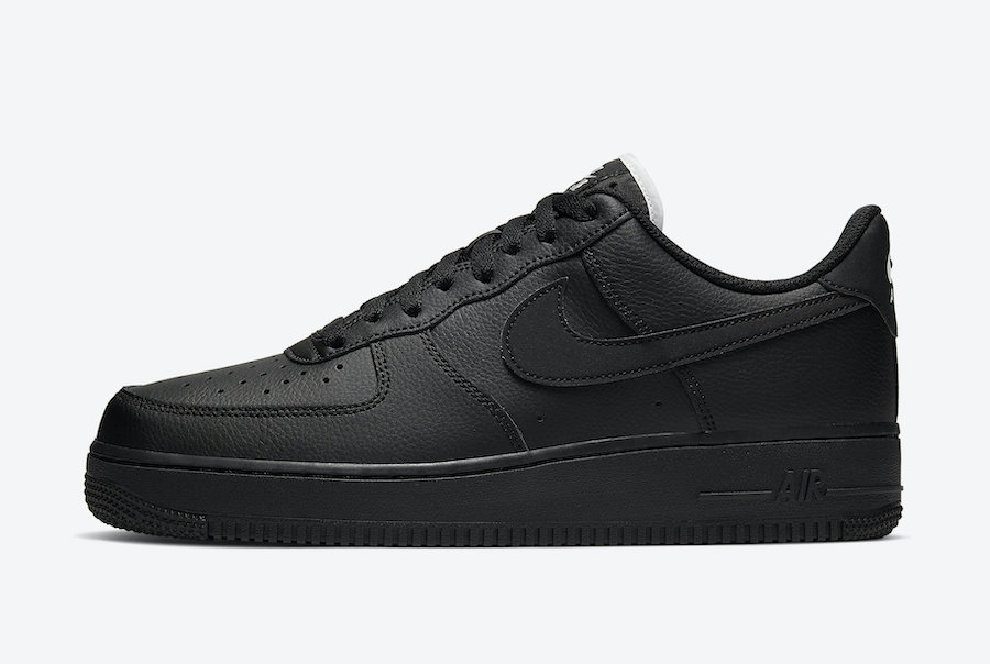 Nike Air Force 1 Low Black CJ1607-001 Release Date Info