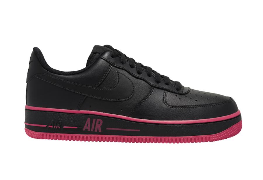 Nike Air Force 1 Low Black Laser Crimson CJ1393-002