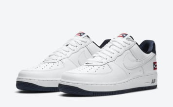Nike Air Force 1 Low Puerto Rico CJ1386-100 Release Date