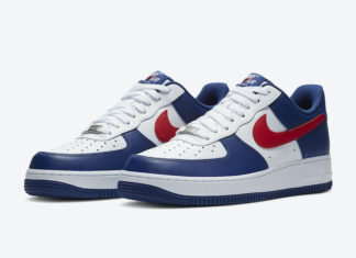 Nike Air Force 1 Low USA CZ9164-100 Release Date Info