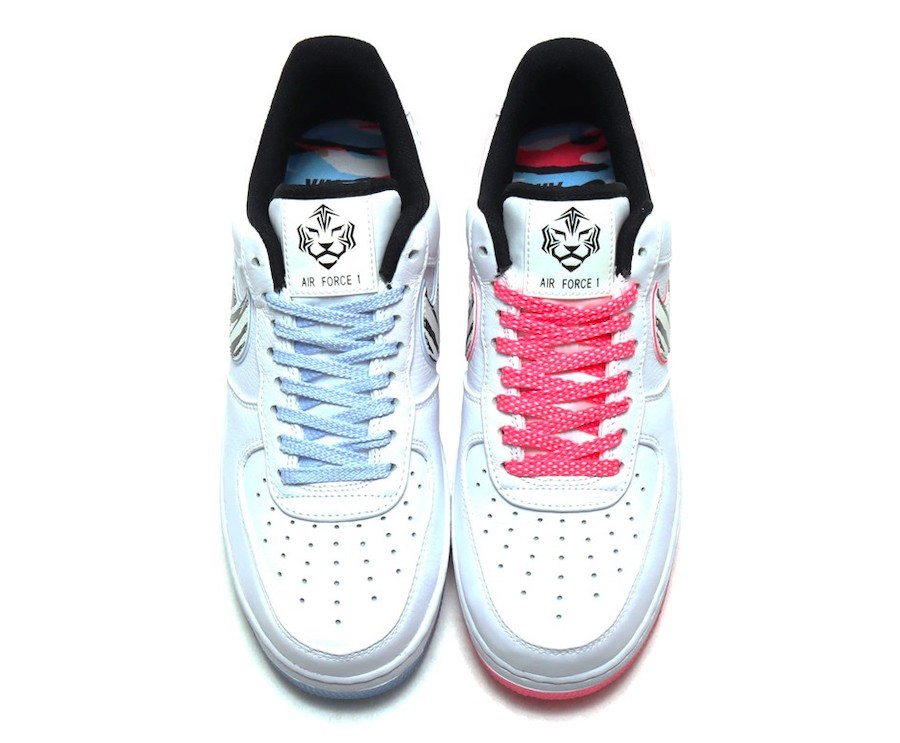 Nike Air Force 1 Low White Tiger Korea CW3919-100 Release Date