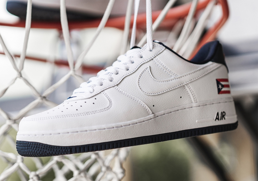 Nike Air Force 1 Puerto Rico CJ1386-100 2020 Release Date Info