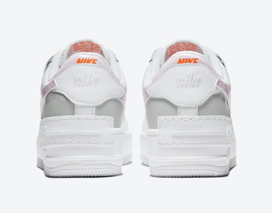 Nike Air Force 1 Shadow Pink Foam CZ0370-100 Release Date Info