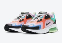 Nike Air Max 200 Pink Red Blue Aqua Green CJ0630-600 Release Date Info