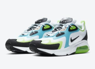 Nike Air Max 200 SE Electric Green Oracle Aqua CJ0575-101 Release Date Info