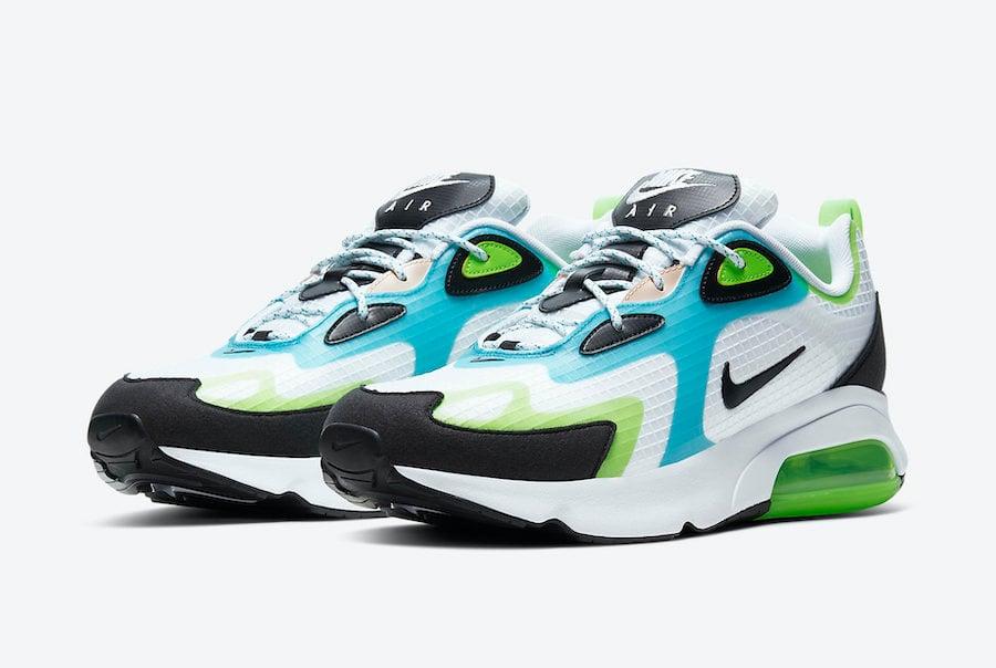 Nike Air Max 200 SE Electric Green Oracle Aqua CJ0575-101 Release Date Info
