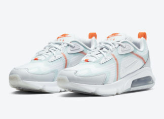 Nike Air Max 200 White Orange Teal CJ0630-600 Release Date Info