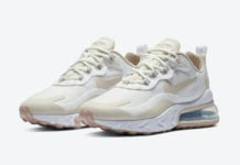 Nike Air Max 270 React Light Orewood Brown CJ0619-102 Release Date Info