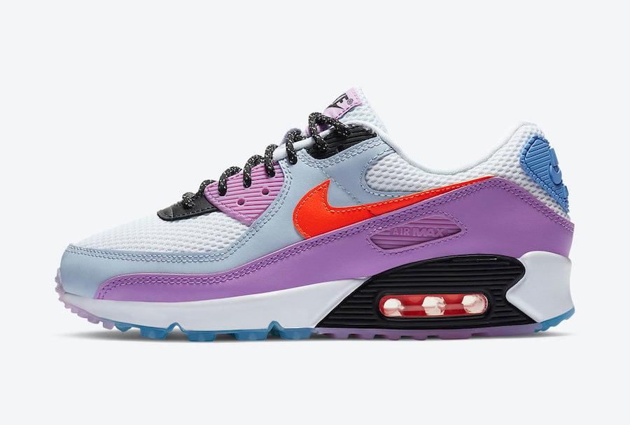 Nike Air Max 90 ACG Blue Purple CW6029-100 Release Date Info