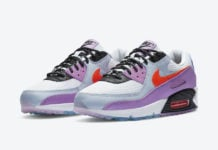 Nike Air Max 90 ACG Blue Purple CW6029-100 Release Date Info