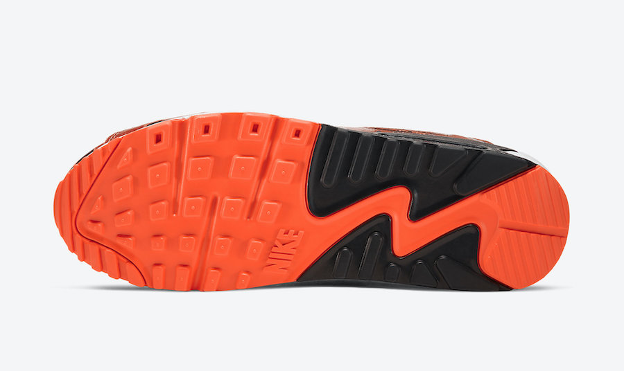 Nike Air Max 90 Orange Camo CW4039-800 Release Date