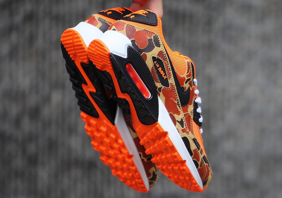 Nike Air Max 90 Orange Camo CW4039-800 Release Date Info