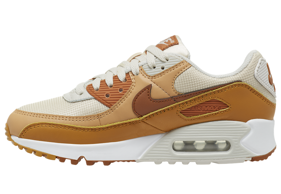 Nike Air Max 90 Tan Brown CZ3950-101 Release Date Info