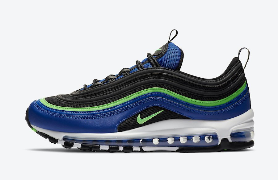 Nike Air Max 97 Blue Neon CW5419-400 Release Date Info