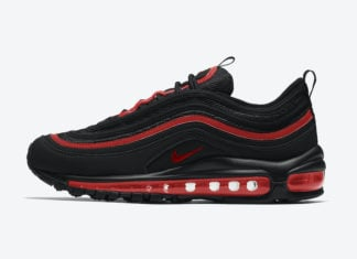 Nike Air Max 97 GS Black Red 921522-023 Release Date Info