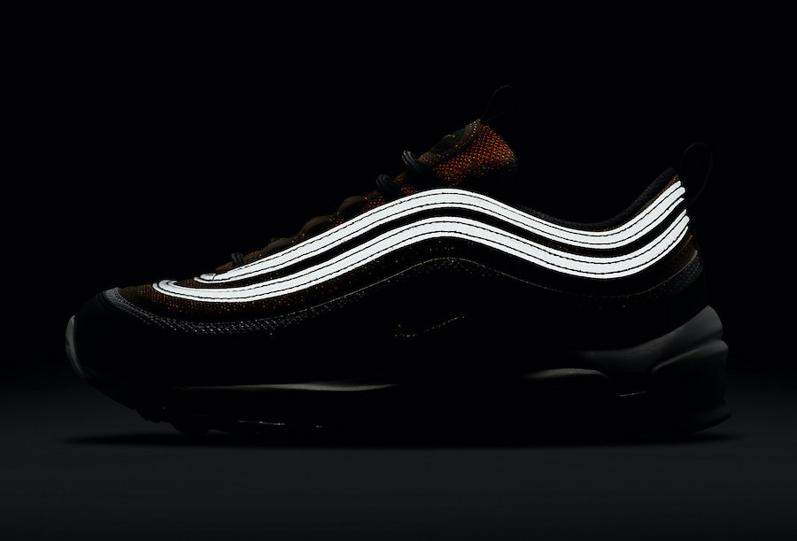 Nike Air Max 97 GS Gold Black White CZ9197-700 Release Date Info