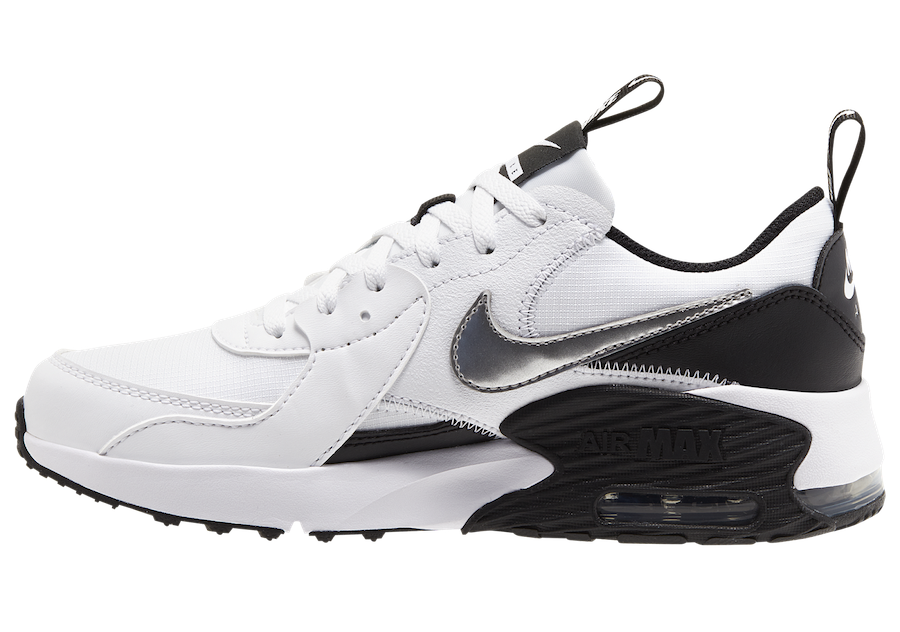 Nike Air Max Excee White Silver Black CZ4990-100 Release Date Info