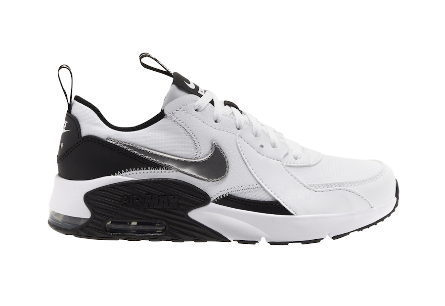 Nike Air Max Excee White Silver Black